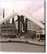 Whittle Arch Coventry Canvas Print