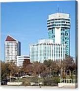 Wichita Skyline Canvas Print