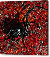 Wicked Widow - Rouge Canvas Print