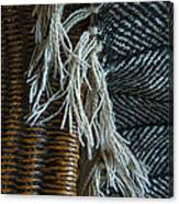 Wicker And Wool Canvas Print