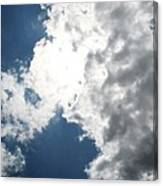 Wicker Clouds Canvas Print
