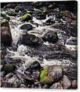 A River In The Wicklow Mountains, Ireland. Vision # 2 Canvas Print