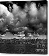 Wid Open Lake Canvas Print