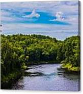 Wide River Canvas Print