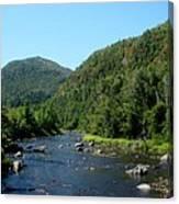 Wide River Canvas Print