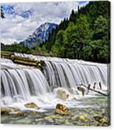 Wide Waterfall Canvas Print
