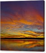 Widescreen Sunset Canvas Print