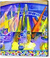 Widespread Panic Peabody Opera House Canvas Print