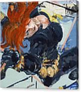 Widow #1 Canvas Print