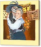 Widow's Waltz 1 Canvas Print