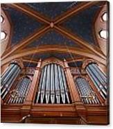 Wiesbaden Marktkirche Organ Canvas Print