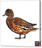 Wigeon Art - 7415 - Wb Canvas Print