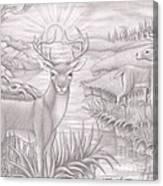 Wight Tale Canvas Print