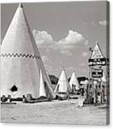 Wigwam Village #2 Coca-cola Sign Marion Post Wolcott  Cave City Kentucky July 1940-2014 Canvas Print