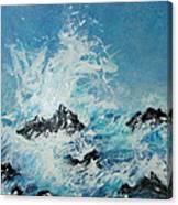 Wild Blue Too Canvas Print