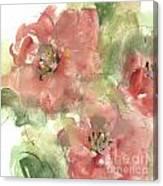Wild Camellia 1 Canvas Print