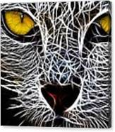 Wild Cat Canvas Print