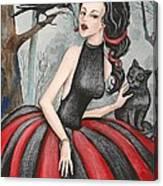 Wild Cherry Canvas Print