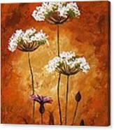 Wild Flowers 041 Canvas Print