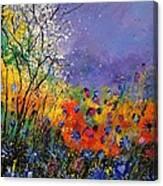 Wild Flowers 4110 Canvas Print