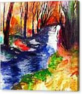 Wild Forest Canvas Print