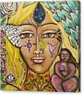 Wild Goddess Canvas Print