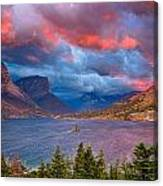 Wild Goose Island Overlook September Sunrise Canvas Print