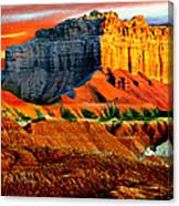 Wild Horse Butte Utah Canvas Print