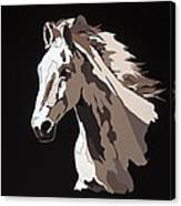 Wild Horse With Hidden Pictures Canvas Print