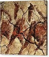Wild Horses - Cave Art Canvas Print