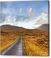 Wild Landscape Of Connemara Ireland Canvas Print