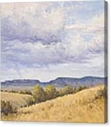 Wild Montana Skies Canvas Print