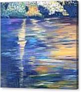 Wild Pond Reflections Canvas Print