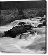 Wild Potomac River Canvas Print