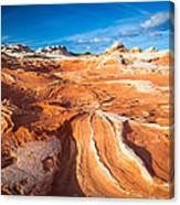 Wild Sandstone Landscape Canvas Print