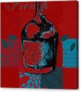 Wild Still Life - 0102b - Red Canvas Print