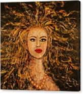 Wild Tigress Canvas Print