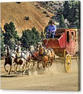 Wild West Ride 2 Canvas Print