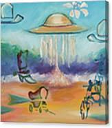 Wild Wild West By Karen E. Francis Canvas Print