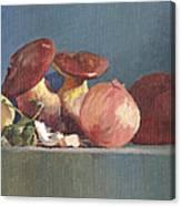 Wilde Mushrooms Canvas Print
