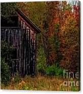 Wilderness Barn Canvas Print