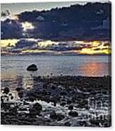 Wilderness Park Sunset Canvas Print