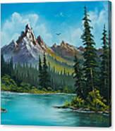 Wilderness Waterfall Canvas Print