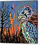 Wildflire Canvas Print