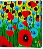 Wildflower Fiesta Canvas Print