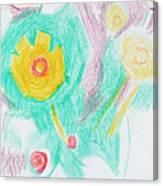 Wildflowers Cyprus Canvas Print