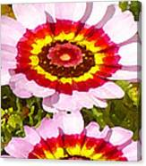 Wildflowers Tall Canvas Print