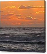 Wildwood Beach Just Before Dawn Canvas Print