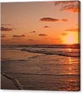 Wildwood Beach Sunrise II Canvas Print