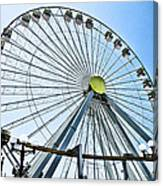 Wildwood Ferris Wheel Canvas Print
